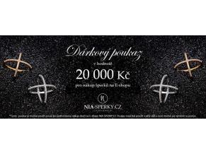 Dárkový poukaz v hodnotě 20 000 Kč