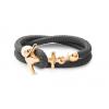 Ocean Story Anker Armband Silber Gold Sailbracelet CocoaBlack gold 2reih AnkerAnker Armband Kopie 2 Kopie 590x