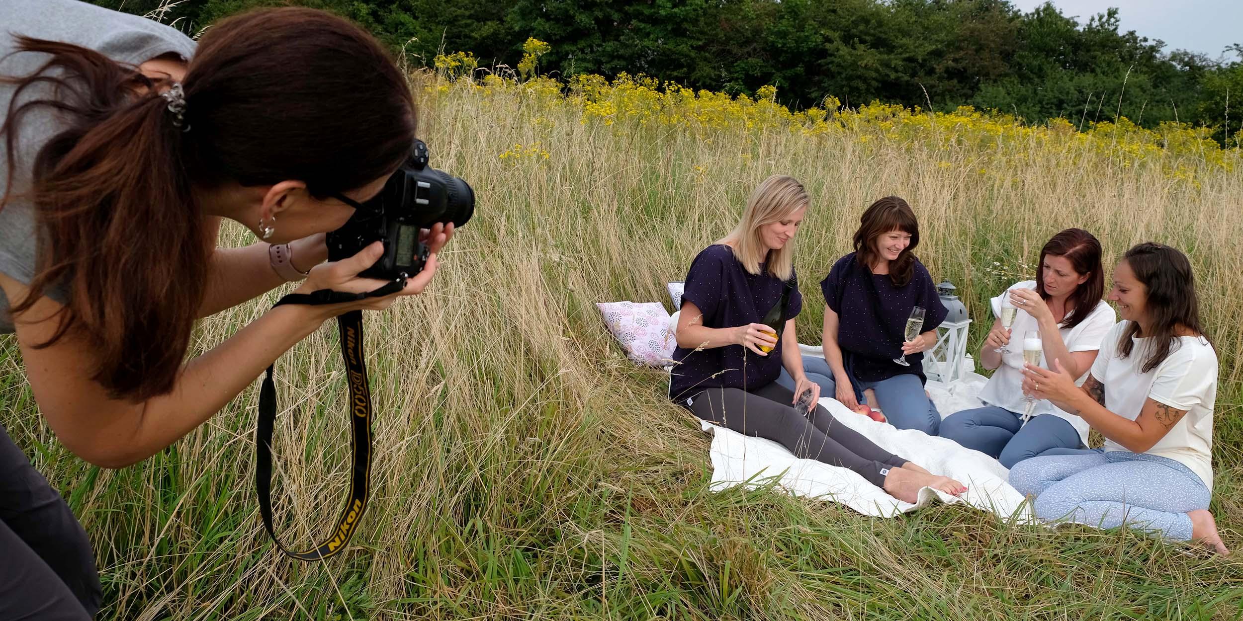 Jak jsme fotili v trávě