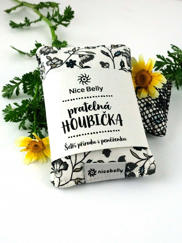 pratelna houbicka chrpy nicebelly