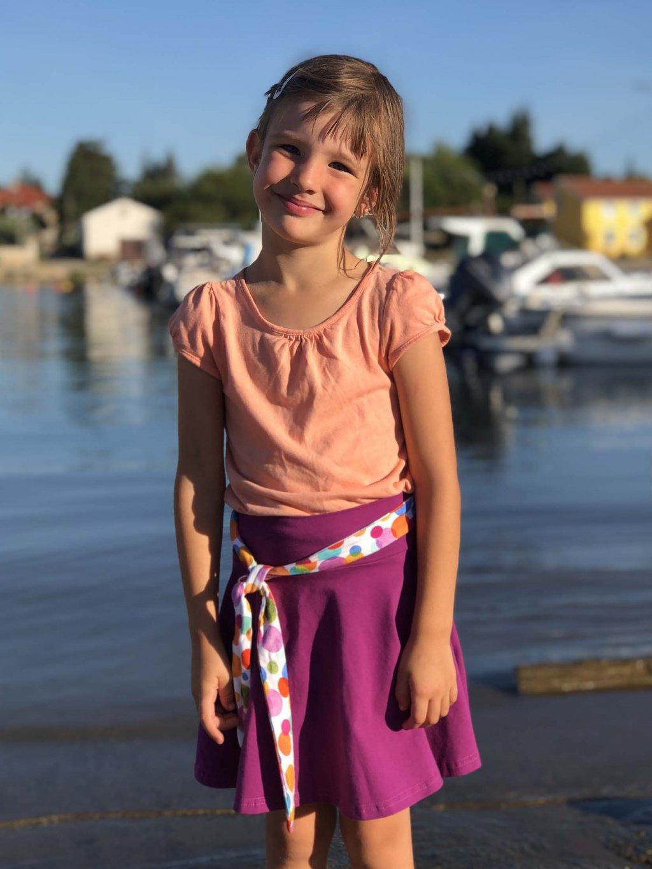 fialova puntiky kolova sukne nicebelly
