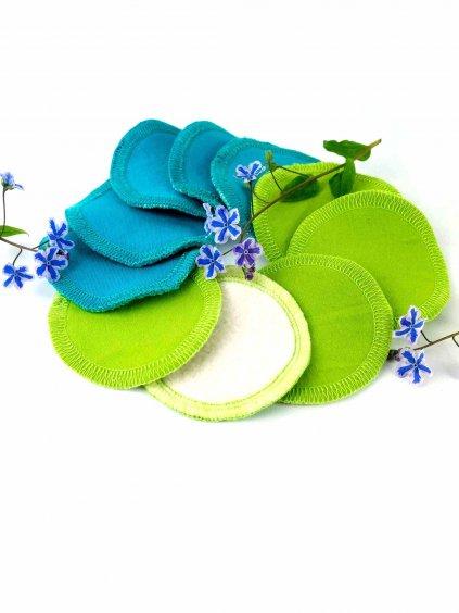 odlicovaci tamponky nicebelly zelene tyrkys
