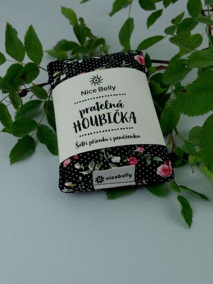 nicebelly pratelna houbicka ruze s puntiky