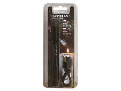 PureFlame EasyFlame Basic plazmový USB zapalovač černý
