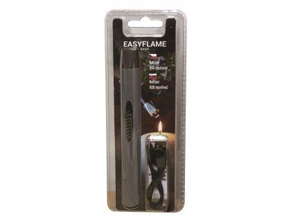 PureFlame EasyFlame Basic plazmový USB zapalovač šedý