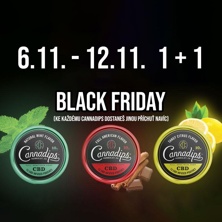 Cannadips Black Friday je tu