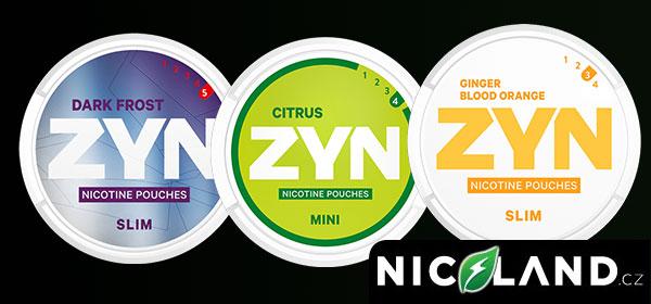 Nikotinové sáčky ZYN - nicopods recenze