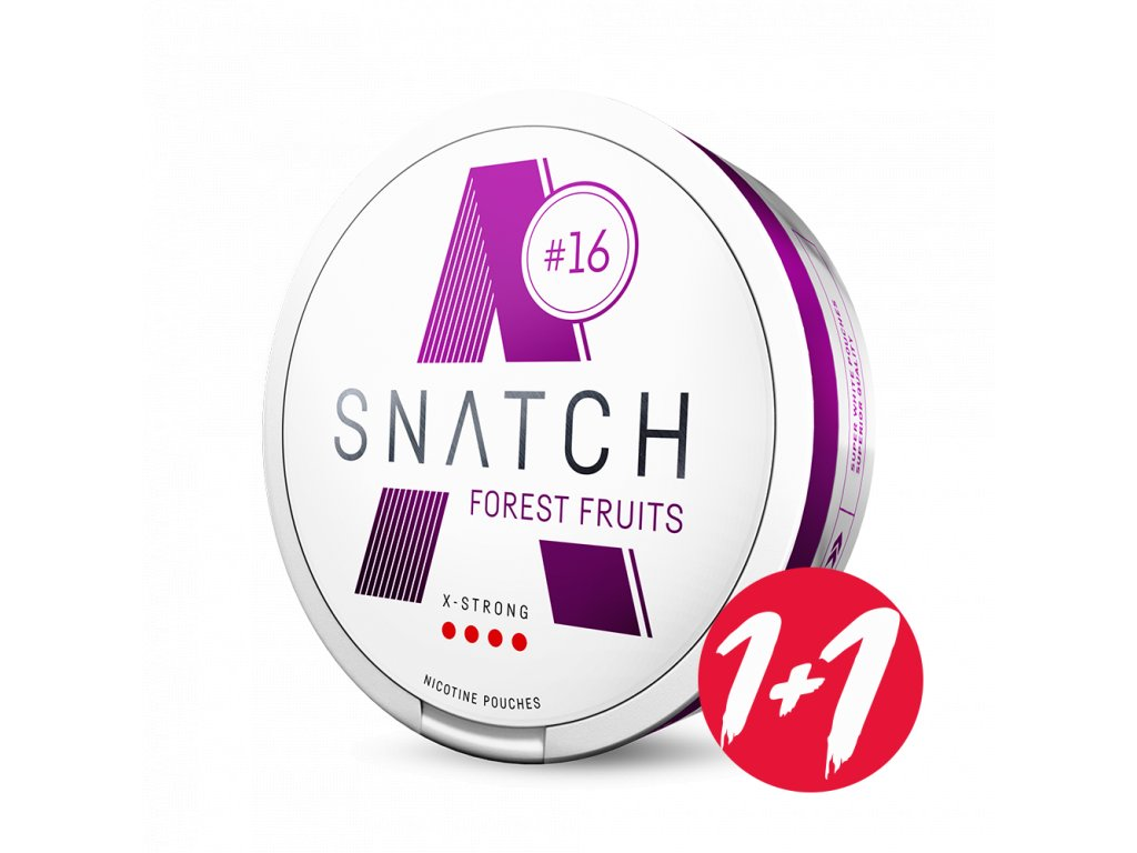 SNATCH forest fruits right shadow 1+1