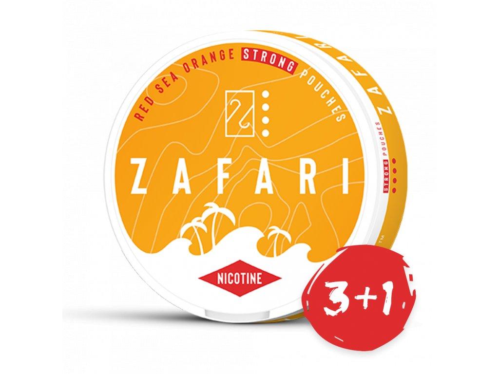 zafari red sea orange slim extra strong all white portion bez pozadi 3+1 NP