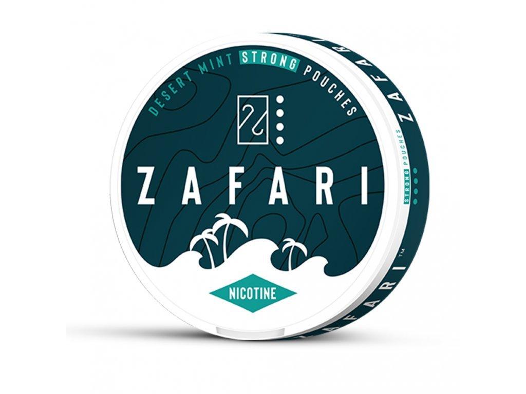 634 zafari desert mint slim extra strong all white portion
