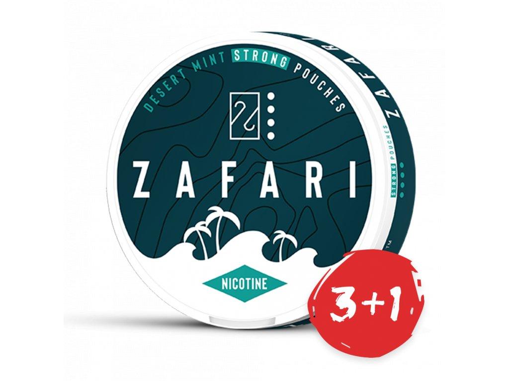 zafari desert mint slim extra strong all white portion bez pozadi 3+1 NP