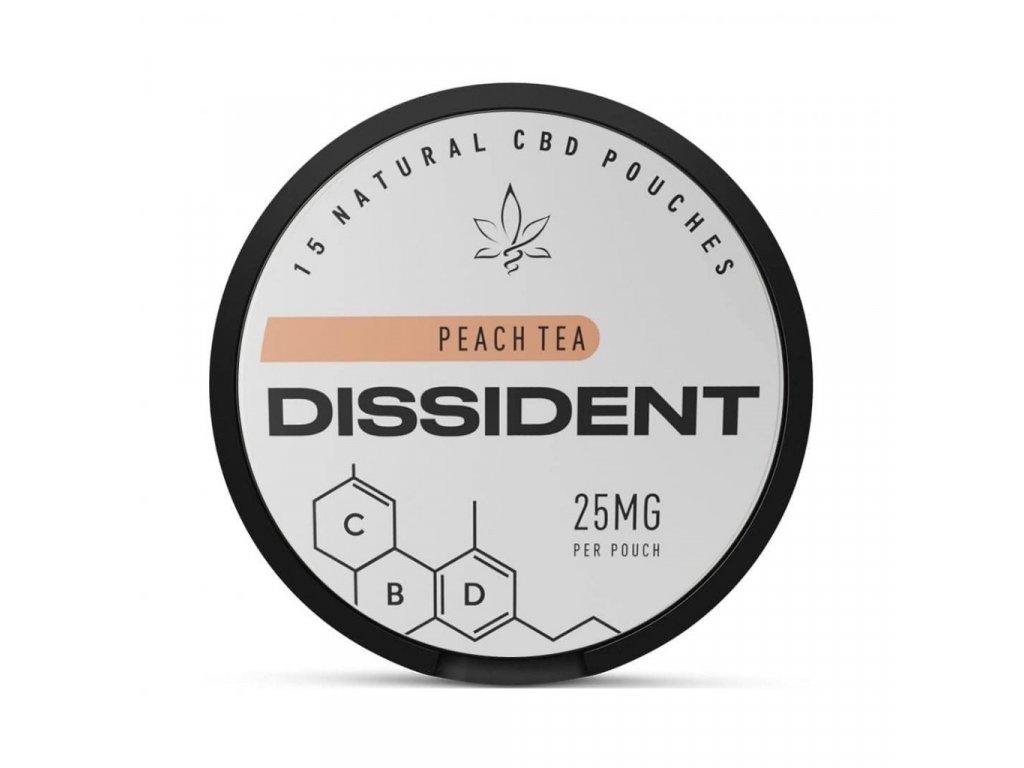 Dissident cbd peach tea