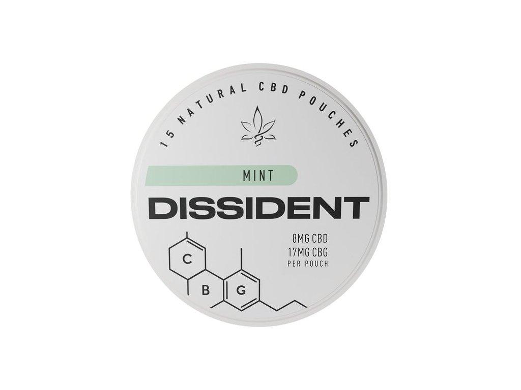 dissident mint cbg 17 mg cbd 8 mg