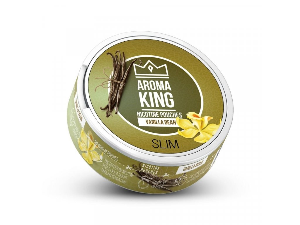 aroma king vanilla bean nicopods cz