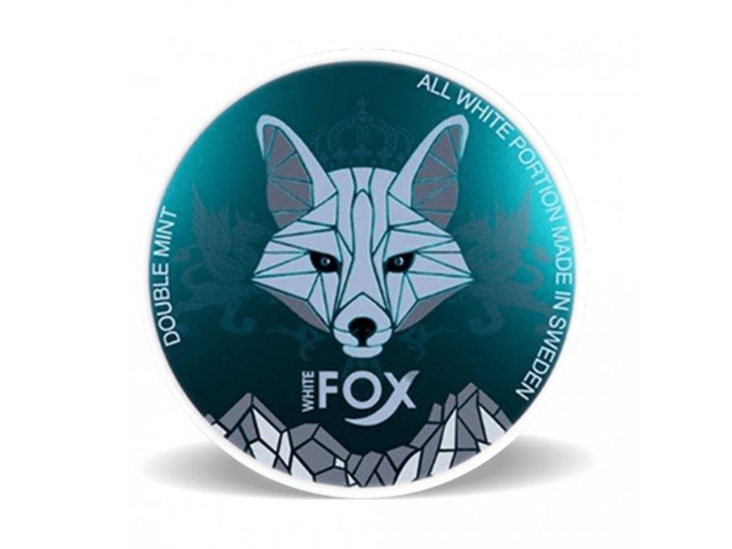 186 1 white fox double mint stin