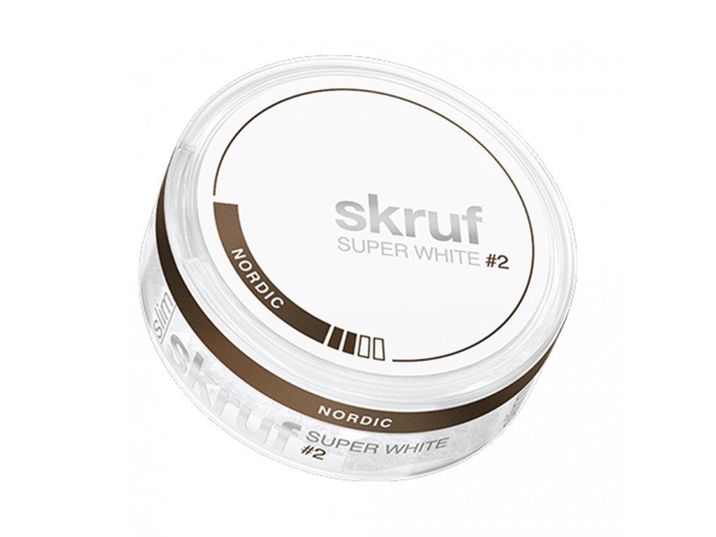 275 skruf super white nordic liquorice