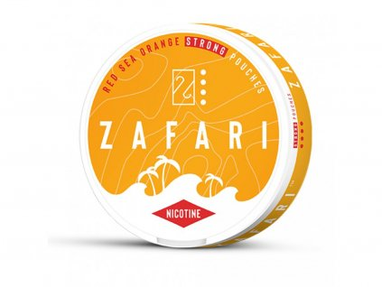 637 zafari red sea orange slim extra strong all white portion