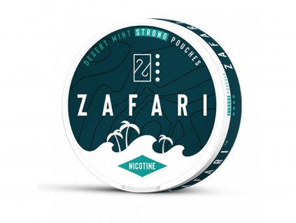 634 zafari desert mint slim extra strong all white portion