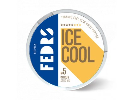 FEDRS ICE COOL CITRUS STRONG 1 stín