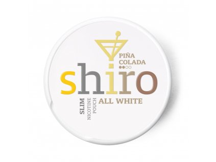 SHIRO PIŇA COLADA