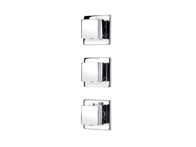 Podomítkový sprchový ovládací panel 09AT