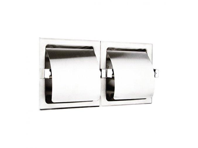 Dvojitý držák toaletního papíru WC-DR20002X