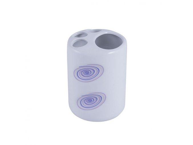 Keramický kelímek na zubní kartáčky KS-FU0002