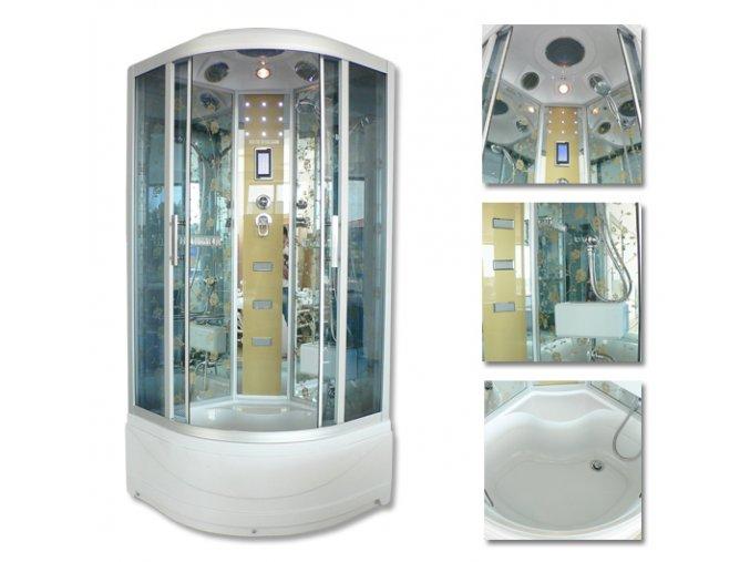 Sprchový box 6801  100x100x215 SAUNA