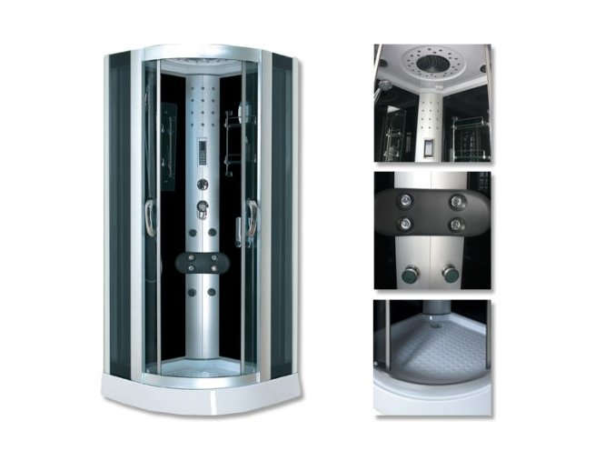 Sprchový box ONTARIO 100x100x220 - SAUNA