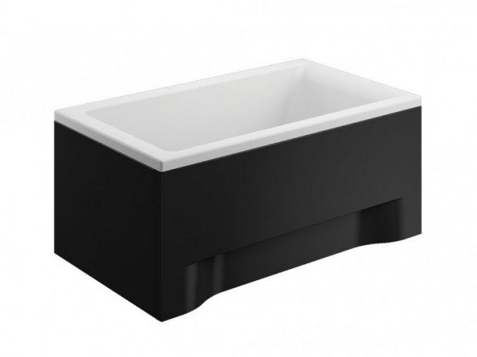 Přední krycí panel vany CAPRI černý