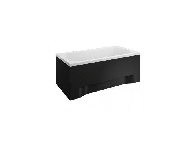 Boční krycí panel vany CLASSIC černý