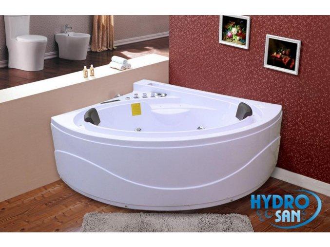 HydroMasážní vana MAJORKA 165x148x71 s ohřevem
