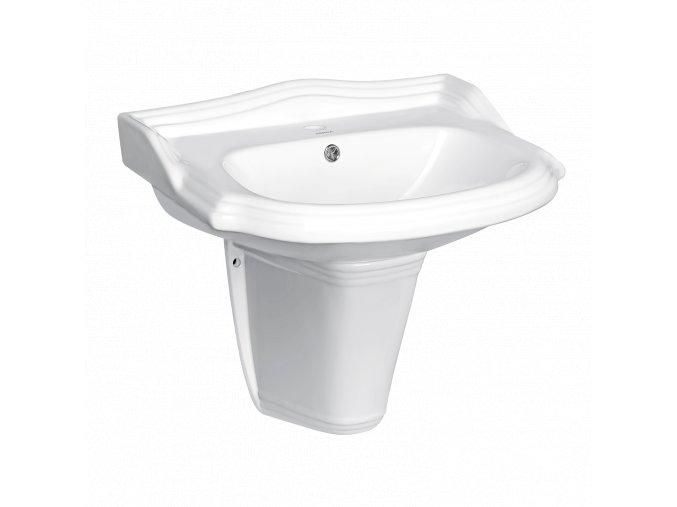Keramické umyvadlo NIKIDO RETRO KR 14