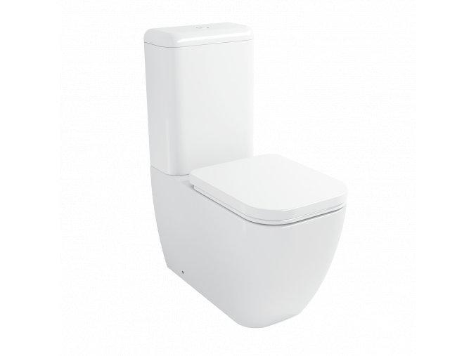 Keramické wc kombi NIKIDO ALBA 11