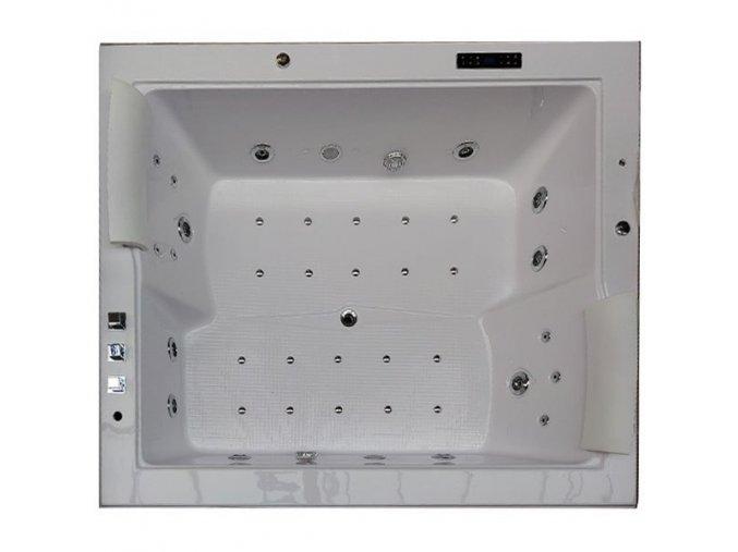 HydroMasážní vana DIABLO 180x150