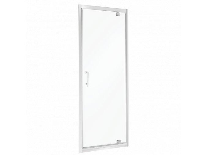 Sprchové dveře UNIKA sklo čiré 70x195, 80x195, 90x195
