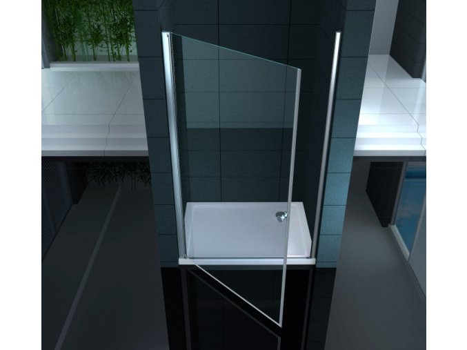 Sprchové dveře ARBO Levé sklo čiré 80x195 nebo 90x195