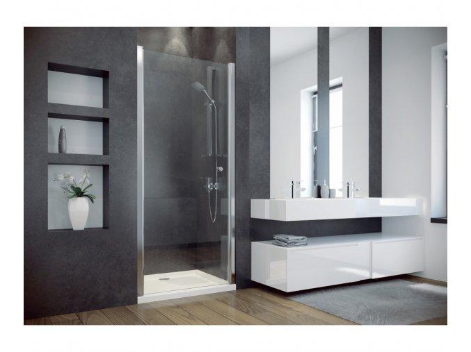 Sprchové dveře SINCO sklo čiré 80x195 nebo 90x195