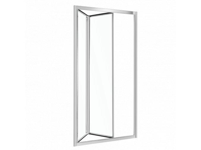 Sprchové dveře HARMONY sklo čiré 80x195, 90x195, 100x195