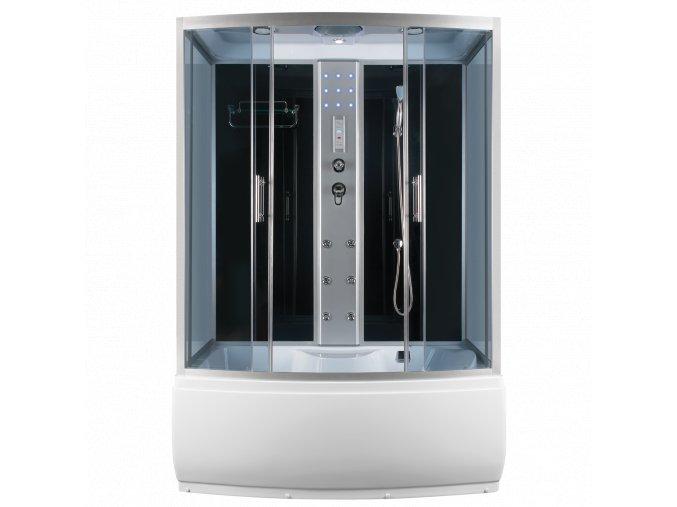 Sprchový a masážní box s vanou  LENA 152x87x223