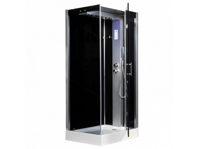 Sprchový box TWIN pravý 102x81