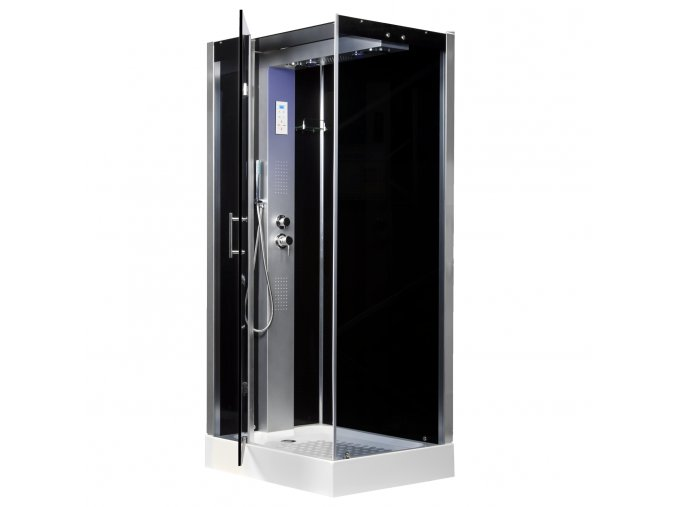Sprchový box TWIN levý 102x81
