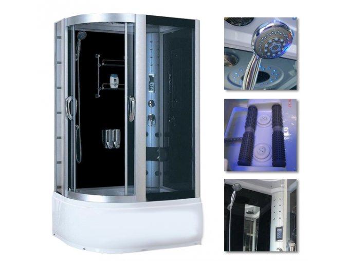 Sprchový box 9912 120x85x215  pravý - SAUNA