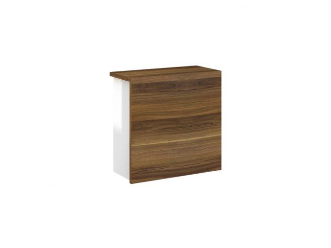 Koupelnová doplňková skříňka závěsná horní Simon H 40 L