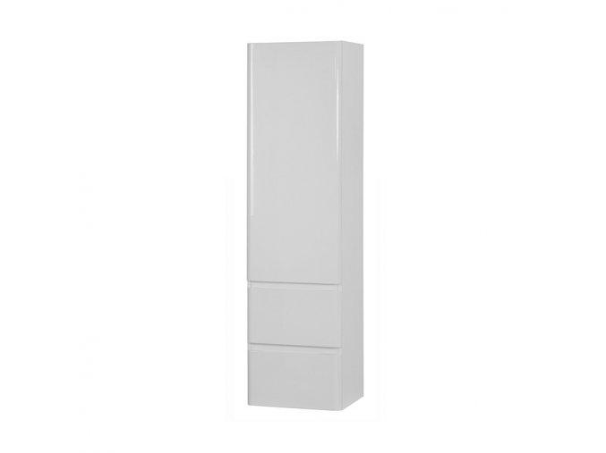 Koupelnová doplňková skříňka závěsná vysoká Maroko V 40 P/L
