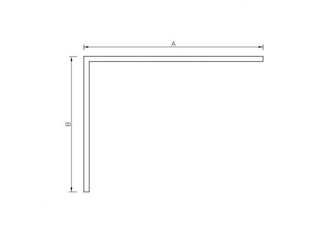 Krycí panel ke sprchové vaničce z litého mramoru - obdélník R 140/80