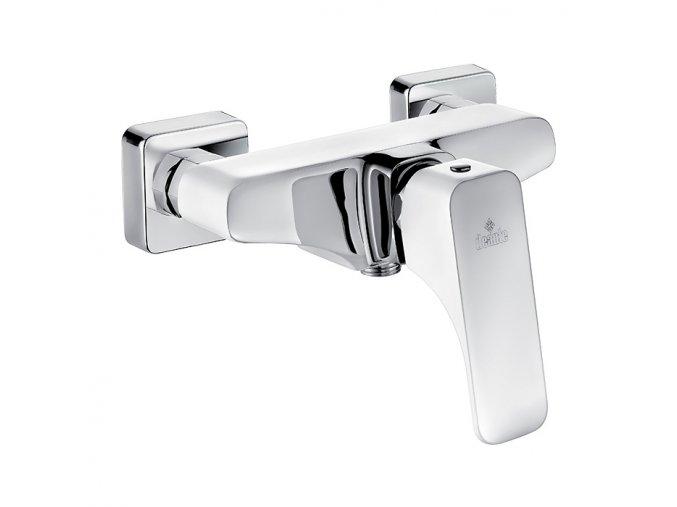 Sprchová nástěnná páková baterie Houston W400 Bílá