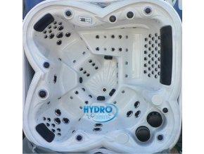 Zahradní vířivka SPA 736 bílá  220x220x99