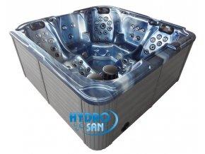 Zahradní vířivka SPA 205A modrá 230x230x98