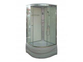 Sprchový box NIKIDO DELUX WHITE 90x90